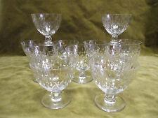 11 verres à vin 11cl cristal Baccarat Paris forme Gilbert J Luce (wine glasses
