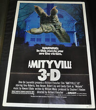 Amityville 3-D Original One 1sh Sheet Movie Poster - (1983) ITB WH