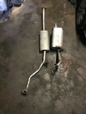 NISSAN MICRA K12 1.2,1.4 EXHAUST CENTRE & REAR SILENCER COMPLETE 2003-2010