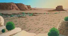 "Doug West, ""Chacoan Sunstride"", Ltd ed serigraph, 15.75""h x 30""w image, 1986"