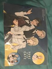 Yuri On Ice Cafe Paper Poster And Coasters