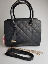 Nicole Brown, schöne Damen Handtasche in schwarz