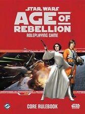 Star Wars: Age of Rebellion RPG Core Rulebook by Fantasy Flight Games (Hardback, 2014)