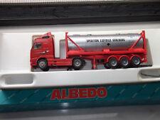 Albedo Volvo FH 16 Silo-Sattelzug Rot - Silber Sprdition Luible Günzburg m. OVP