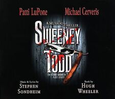 Sweeney Todd: A Musical Thriller by Michael Cerveris/Patti LuPone (CD, Jan-2006,