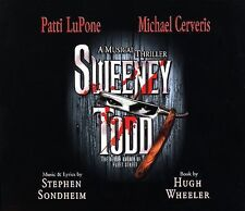 Sweeney Todd: A Musical Thriller by Michael Cerveris/Patti LuPone (CD)