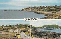 Postcard - Clevedon - 3 Views