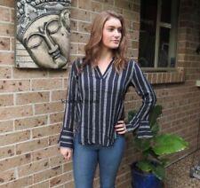 V-Neckline Clubwear Machine Washable Tops for Women
