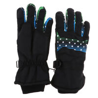 Ski Gloves Winter Waterproof Snowboard Snow Warm Women Men Gloves Wrist Band