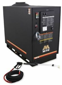 HOT PRESSURE WASHER BELT DRIVEN 8 HP 3000 PSI 3.9 GPM 200°F NATURAL LP GAS