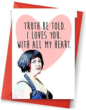 nessa valentines day card funny love you valentine gavin stacey humour tv tidy