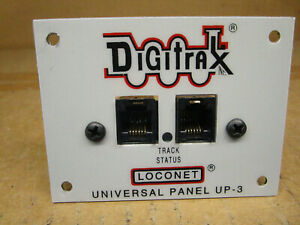 Digitrax Loconet Universal Panel UP-3