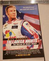 Talladega Nights Movie RARE Advertisement (2006)