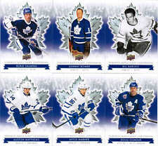 2017 UD TORONTO MAPLE LEAFS CENTENNIAL HOCKEY COMPLETE BASE SET (100) MATTHEWS