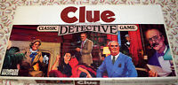 Clue Classic Detective Board Game Replacement Parts & Pieces 1986 Parker Bros