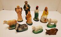 Antique/Vintage German Nativity Figures Christmas