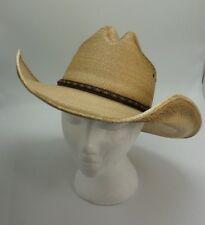 a211f0b6d34 Jason Aldean Amarillo Sky Palm Leaf Cowboy Hat Size 7   56