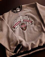 OHIO STATE BUCKEYES 2002 NATIONAL CHAMPIONSHIP GREY LEE SWEATSHIRT, HEAVY, NICE!