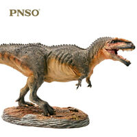 PNSO 1/35 Giganotosaurus carolinii Dinosaur Figure Collector Animal Decor Gift