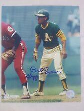 Bert Campaneris Oakland Athletics Signed 8x10 Photo with Campy Inscription