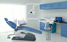 USA Shipping Dental Unit Chair Computer Controlled TJ2688 A1 4Holes Skyblue FDA