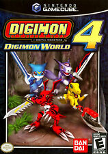 Digimon World 4 (Nintendo GameCube, 2005) W/CASE