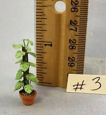 Dollhouse Miniature 1/4 scale split leaf philodendron #3