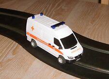 Scalextric Mercedes Sprinter ambulance / car conversion UNIQUE Superb fun.