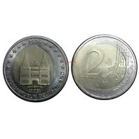 #RM# ERROR COIN - 2 EURO COMMEMORATIVE GERMANY 2006 LETTER J - SEE PHOTO - UNC