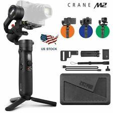 Zhiyun Crane M2 3-Axis Camera Gimbal - Black (MINT Condition) USED AS Display