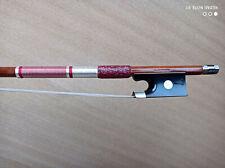 Pernambuco, silver mounted  Octagonal Violin Bow Stamped:  VL.MONOMAX