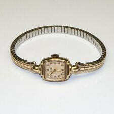 Vintage Ladies Elgin Deluxe 10K Gold Filled watch 17 Jewels