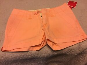 Shorts Size one 1 Orange. NEW with tags Mossimo
