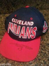 Cleveland Indians Minnie Minoso #9 Autographed Vint Baseball Cap 1958-1959 MLB