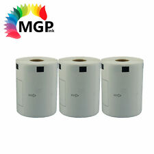3x Rolls Compatible DK-22243 BROTHER Continuous Refill Labels – 102mm X 30.48m
