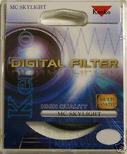Kenko 52 mm lucernario Digitale Filtro Lente Multi Coated Protettore Protezione Nuovo