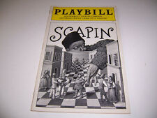 1997 ROUNDABOUT LAURA PELS THEATER PLAYBILL - SCAPIN - STEADY WELCH IRWIN