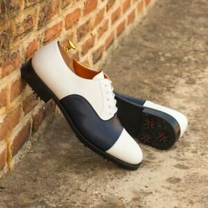 The Oxford Golf Shoe Model 4326 from Robert August w/ Shoe Trees Included