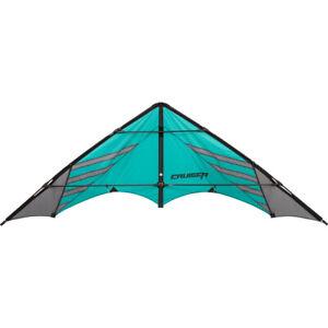 HQ Lenkdrachen Cruiser Aqua Drachen Sportkite Kite,Speed Kite inkl.100kp Dyneema