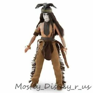 "Disney Store The Lone Ranger Tonto 12"" Deluxe Action Figure Toy Doll Sealed New"