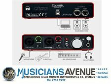 Focusrite Scarlett 2i2 2nd Generation 2 in 2 out 2nd USB Audio Interface