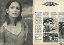 Coupure de presse Clipping 1980 Anicée Alvina  (2 pages)                  301016