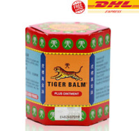 3 x 30g Tiger Balm Plus (Red) Ointment Herb Pain Relief Muscular Aches Sprains