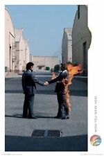 PINK FLOYD - WISH YOU WERE HERE POSTER - 24x36 MAN ON FIRE 24476