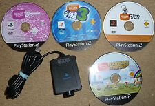 EYE TOY PLAY 1 3 GROOVE MONKEY OFFICIAL USB EYETOY CAMERA SONY PLAYSTATION 2 PS2