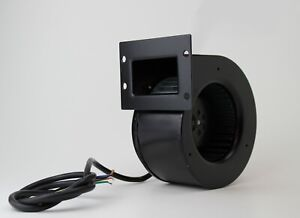 Centrifugal industrial extractor fan blower 2140 RPM; 180 m3/h; 230 V