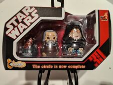 Star Wars TAC Chubby 'SITH' Nesting Dolls by Hot Toys IMPORTED RARE 2007 MISP
