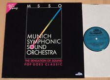 MUNICH SYMPHONIC SOUND ORCHESTRA - Pop goes Classic  (1988 / LP NEAR MINT)