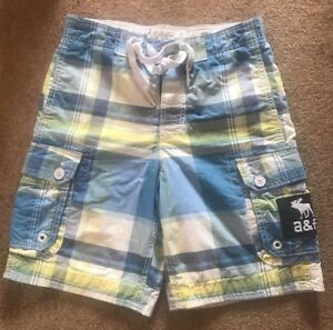 Abercrombie And Fitch Kids Swim Shorts Size L
