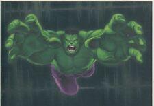 The Incredible Hulk [2003] Gamma Ray Chase Card #2